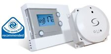 Salus RT500BC Programmable Room Thermostat with Plug in Receiver Module