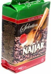 Najjar Cafe Turkish Arabic Coffee with Cardamom Product of Lebanon 200g
