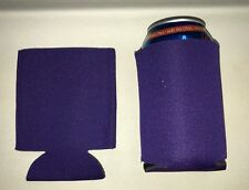 Purple  Blank Lot 20 Can Cooler Huggie Koozie Baby Wedding Sublimation