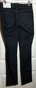Ann Taylor LOFT ~ Dark Blue ~ Denim Curvy Straight Jeans ~ Size 26/2T ~ NWT!