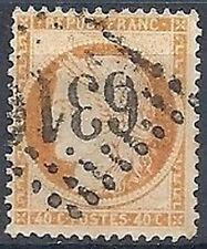 1870 FRANCIA USATO ASSEDIO DI PARIGI 40 CENT - FR458-5