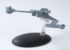 Eaglemoss Star Trek ST0007 Klingon K'Tinga-Class Battlecruiser TV  & MAGAZINE