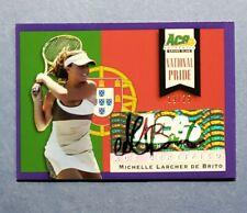 2013 Ace National Pride, Michelle Larcher De Brito, Auto Autograph, #d 19/25