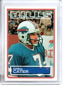 1983 TOPPS GREG CATER (NM/MT)