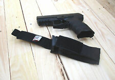 schwarze Molle-Magazintasche Messertasche LED Lampen Tasche P30 Nylonholster