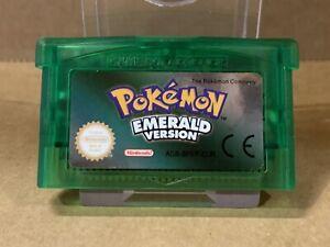 Pokemon: Emerald Version (Nintendo Game Boy Advance, 2005) - Free Postage!!!