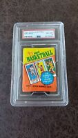 1980 Topps Basketball Wax Pack PSA 8 - Magic Johnson, Larry Bird rookie