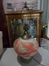 Vintage PHOENIX Consolidated Art Glass Electric Lamp-Cockatoo