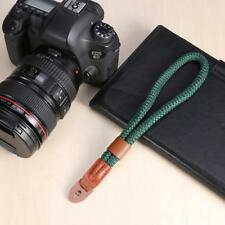 Nylon Hand Wrist Strap Wrist Band Lanyard for Leica Digital SLR Camera Green