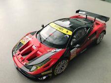 Carrera Digital 132 30743 Ferrari 458 Italia gt2 carrosse + chassis Neuf Lumière
