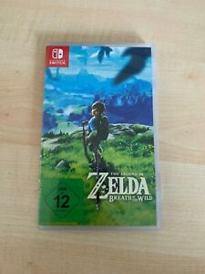 Zelda Breath Of The Wild (Nintendo Switch) Neuwertig!!!