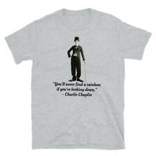 Charlie Chaplin t-shirt silent movies drama theater comedy slap stick T-shirt