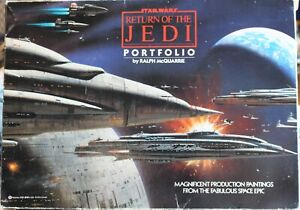 Star Wars Return Of The Jedi Portfolio 1983 (18 of 20) Lithographs Set