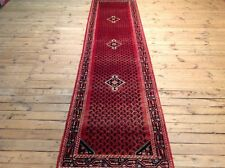 Wunderschöner Perserteppich Orientteppich Hamadan 365  X 90 CM TOP  wie Neu