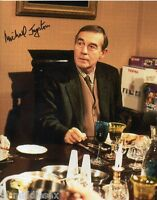 Michael Jayston Autograph - Only Fools and Horses - Signed 10x8 Photo - AFTAL