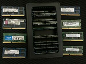 Mixed OEM Lot of 20 2GB Memory 2Rx8 PC3-10600S PC3-8500S For Any Laptop RAM 40GB