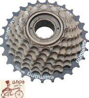 SHIMANO TZ21 14-28T 7-SPEED BROWN MTB-HYBRID-CRUISER BICYCLE FREEWHEEL
