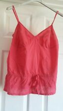 EXCELLENT CONDITION GEORGE PINK STRAPPY TOP SIZE 12