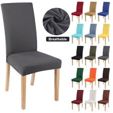 1PCS Dining Chair Cover Stretch Slipcovers Universal Removable Chair Protect US