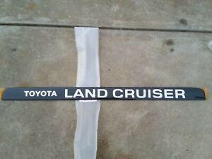 Toyota 80 Series Land Cruiser rear badge NEW