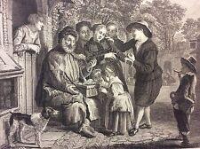Vieillard vend des bagues d'après Jan Victors - J B Simonet 1777 XVIII Bijoux
