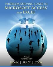 Problem Solving Cases in Microsoft Access and Excel, 10th Edition