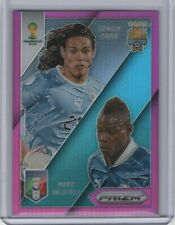 2014 Panini Prizm World Cup Matchups Purple #7 Mario Balotelli Cavani 5/99