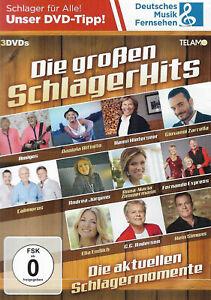 Die großen SchlagerHits - Die aktuellen Schlagermomente | 3 DVDs | FSK 0 | 2019