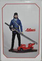Schuco 01232 Piccolo - Feuerwehrmann mit Piccolo Magirus Deutz Feuerwehr, neu