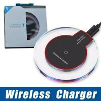 Wireless Charger for Samsung S7/8/9 & Iphone 8 X plus with retail packaging