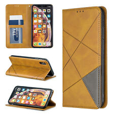 For iPhone 8 Plus Case 7 6s XS Max XR Luxury Magnetic Leather Card Wallet Cover