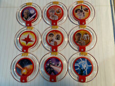 Lot of 9 Pre-owned Power Disc For Disney Infinity 3.0 Star Wars & Marvel