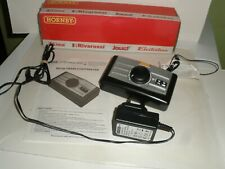HORNBY R8250  TRAIN CONTROLLER WITH PLUG LEADS INSTRUCTIONS LEAFLET TESTED