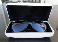Vintage Versace Women's Black Sunglasses Mod 4166 gb1/11 Case Made in Italy