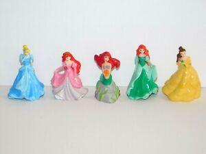 Lot Disney Princesses DecoPac CAKE TOPPERS Ariel Mermaid Cinderella Belle Figure