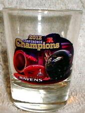 BALTIMORE RAVENS 2012 AFC CHAMPS SHOT GLASS SUPER BOWL 47 XLVII