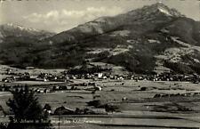 St. Johann Tirol Postkarte 1961 gelaufen Panorama Gesamtansicht Kitzbüheler Horn