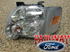 06 thru 10 Explorer & Sport Trac OEM Genuine Ford LEFT - Driver Head Lamp Light