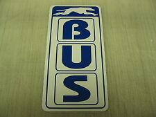 BUS Metal Sign Pharmacy Bar Greyhound Station Vintage Style Art Deco Stop Dog