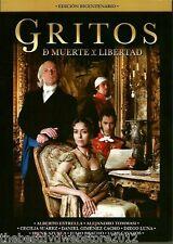 Gritos de Muerte y Libertad ( 2011) DVD 2-Disc Set ESPANOL