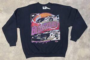 Rare! Vintage 1997 Scott Bloomquist Super Dirt Late Model Sweatshirt - XL