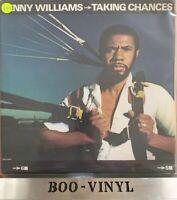 Lenny Williams Taking chances US MCA Vinyl LP Ex Con