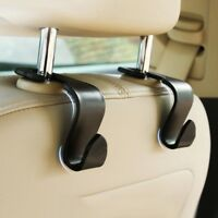 Universal Car Back Seat Headrest Hanger Storage Hooks For Groceries Bag Handbag