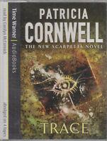 Trace Patricia Cornwell 4 Cassette Audio Book Scarpetta Abridged Crime Thriller