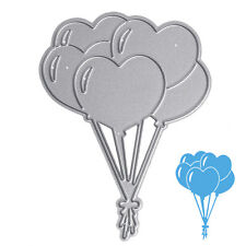 Love Balloon Scrapbook Cutting Dies Stencil Album Paper Card Embossing Craft