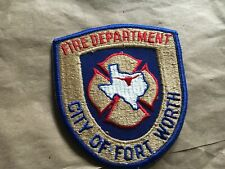 Fort Worth Texas Fire Patch