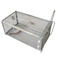 Small Animals Live Hunting TRAP Catch Alive Survival Mouse Rabbit Snare Cage
