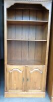 Ethan Allen CIRCA 1776 Maple Bookcase Cabinet