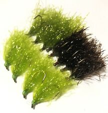 BWCflies 12 x Mixed Pack Weed fly for Blackfish and Luderick