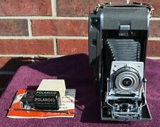Polaroid 110A Manual Camera, Pack Film Converted, #625 Light Meter, Film Tested